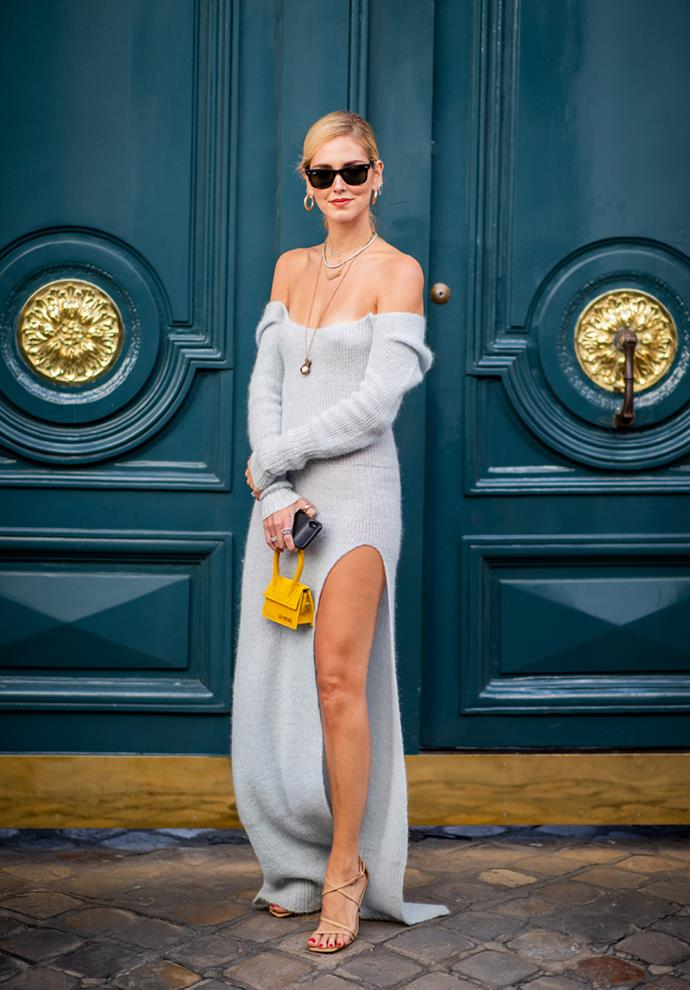 At Paris Fashion Week spring/summer '19