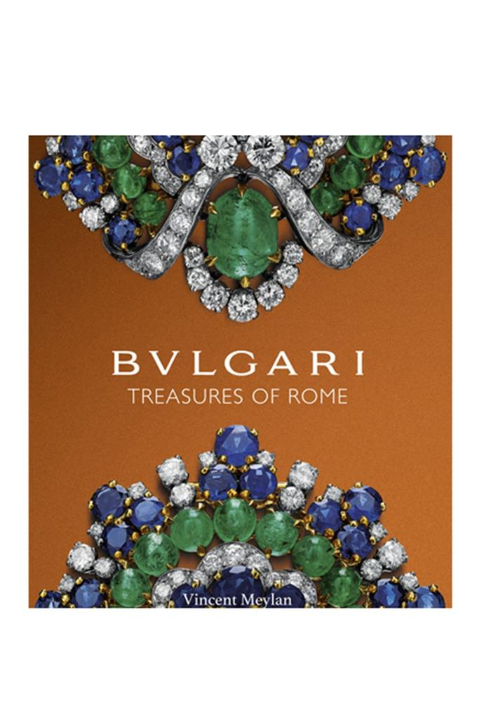 "***Bvlgari: Treasures of Rome***<br><br> Ever wondered how iconic pieces of jewellery are made? This book tells the story of Bulgari's jewellery making – all the way from mining the diamonds to the finished piece. With stories of how Richard Burton wooed Elizabeth Taylor with glittering Bulgari jewels, Bulgari is a beautiful new book celebrating the work of this Rome-based jeweller and all the anecdotes that are intertwined with it. <br><br> Blvgari: Treasures of Rome, $74, [Booktopia](https://www.booktopia.com.au/bvlgari-vincent-meylan/prod9781851498796.html|target=""_blank""