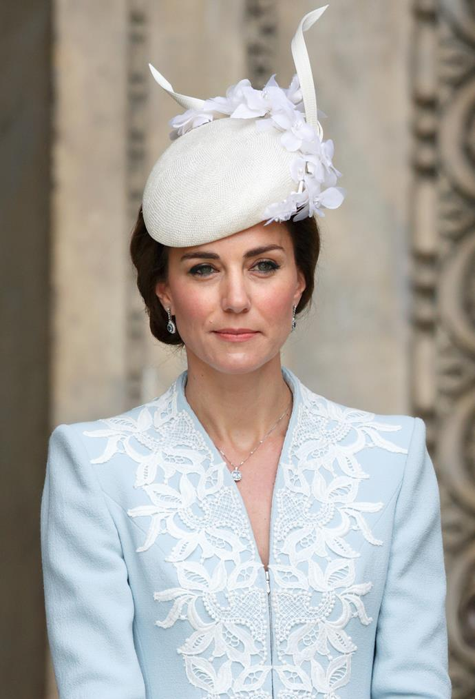 """**Catherine, Duchess of Cambridge**<br><br> *$14 million AUD*<br><br> Although you might not have guessed, the former Ms Middleton is actually worth millions. Her parents own a lucrative party supply business called Party Pieces, which Kate briefly worked at—and [rumour has it](http://time.com/money/5224398/kate-middleton-net-worth/ target=""""_blank"""" rel=""""nofollow"""") that they have put aside quite a bit of profit for herself and her two siblings, Pippa and James."""