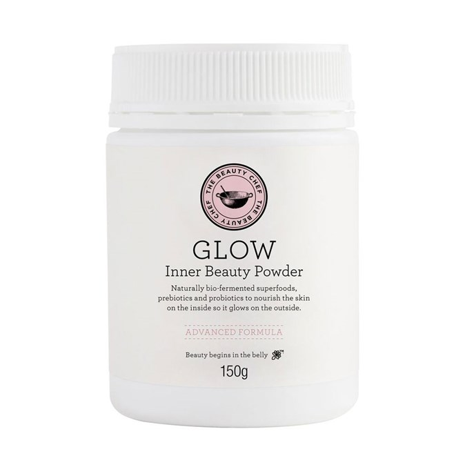 """**The Beauty Chef 'Glow' Inner Beauty Powder, $60 at [Sephora](https://www.sephora.com.au/products/the-beauty-chef-glow-inner-beauty-powder/v/150g