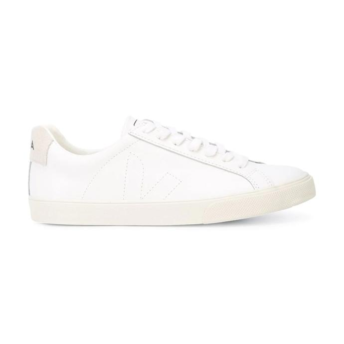 "***An everyday white sneaker***<br><br>  Esplar Unisex sneaker by VEJA, $155 from [THE ICONIC](https://www.theiconic.com.au/esplar-unisex-495116.html|target=""_blank""