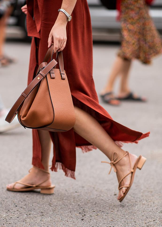 "***A pair of simple leather sandals***<br><br> When the Australian summer rolls around, a simple pair of [sandals](https://www.harpersbazaar.com.au/fashion/summer-sandals-australia-19389|target=""_blank"") will be your go-to. Wear with breezy dresses, jeans or even workwear for instant comfort and cool."