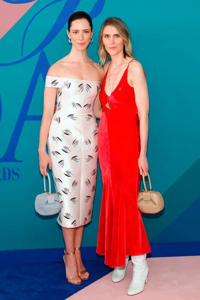 Rebecca Hall and Gabriela Hearst.