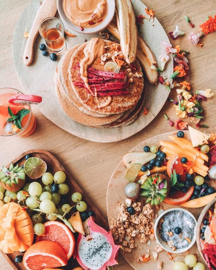 """<strong>Hippie Lane</strong> <br><br> Eating healthy doesn't mean sacrificing all things sweet. Check out Hippie Lane, a purveyor of healthy raw desserts whose recipes are so popular she's turned them into a best-selling app. <br><br> <a href=""""https://www.instagram.com/talinegabriel/"""">@talinegabriel</a>"""