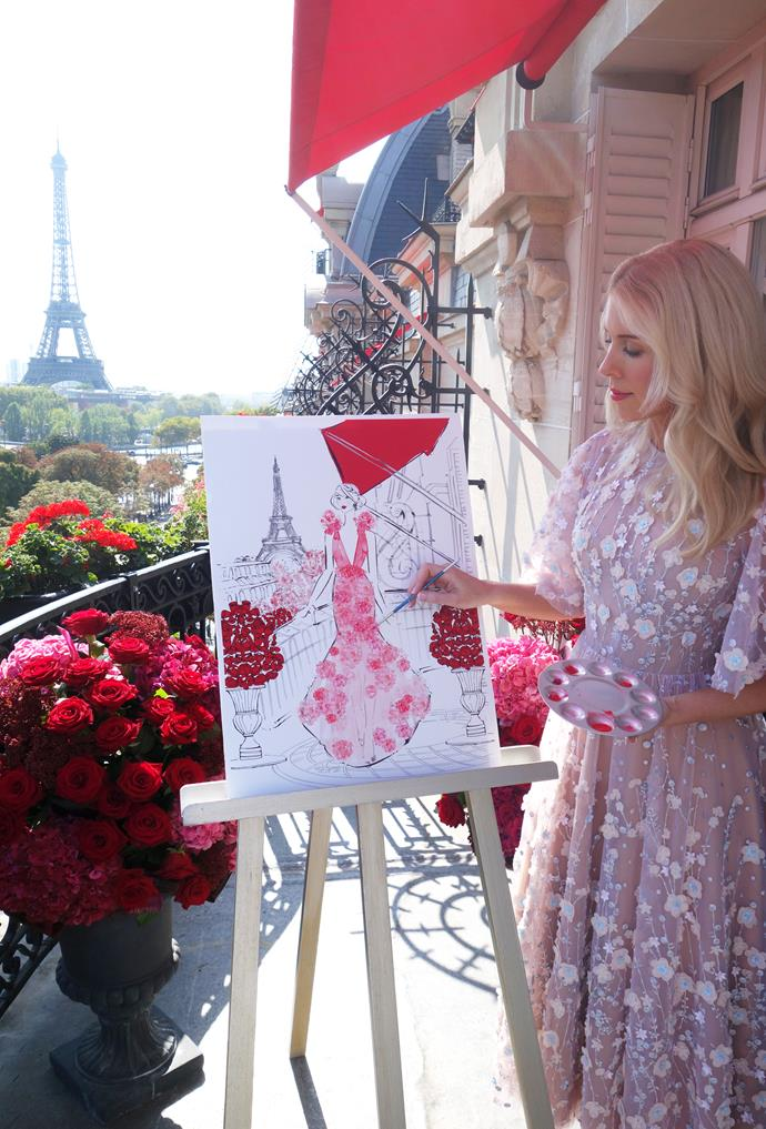 """***Plaza Athénée***<br><br>  I arrive in Paris ready for an exciting job with iconic Hotel [Plaza Athénée](https://www.dorchestercollection.com/en/paris/hotel-plaza-athenee/