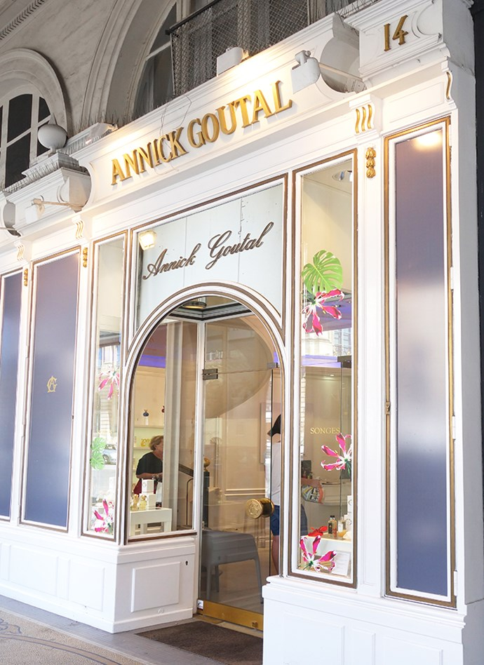 ***Annick Goutal***<br><br>  I always have that feeling that when you buy a perfume when on holiday and wear it during your time away, you will always think of that holiday when back at home. My favourite spot to find beautiful fresh scents in Paris is at Annick Goutal. The store is just delightful and a lovely experience to shop in for something a little different to the perfumes in the beauty chain stores. (My favourite being the one on Rue de Castiglione.)