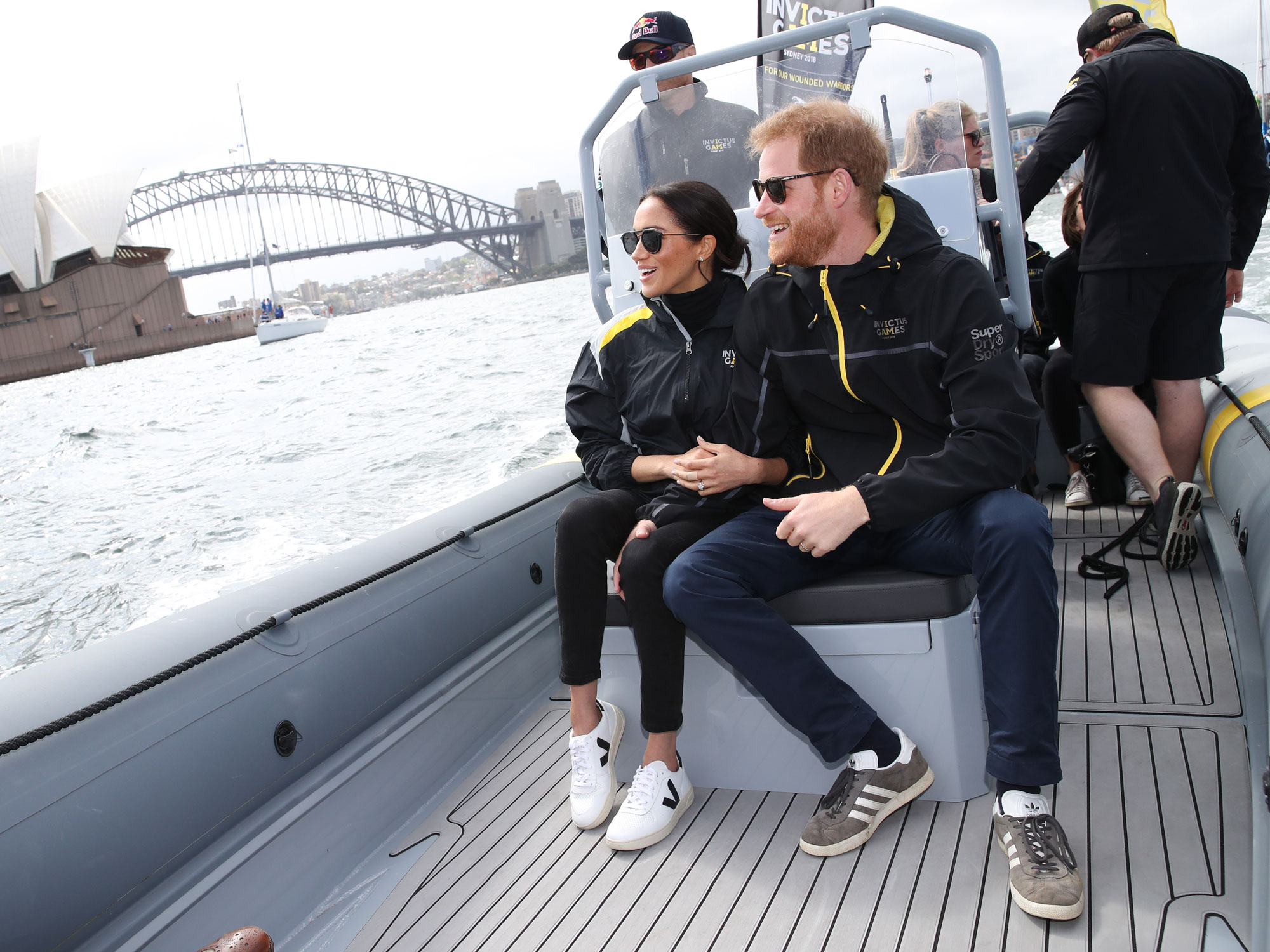 Prince Harry brushes aside aides to comfort Aussie widow