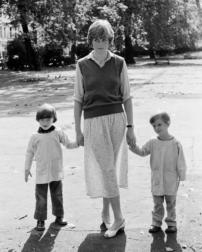 Princess Diana in 1980.
