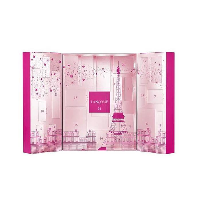 "Lancôme Advent Calendar, $250 at [Lancôme](https://www.lancome.com.au/gifts/advent-calendar/3614272376908.html|target=""_blank""|rel=""nofollow"")"