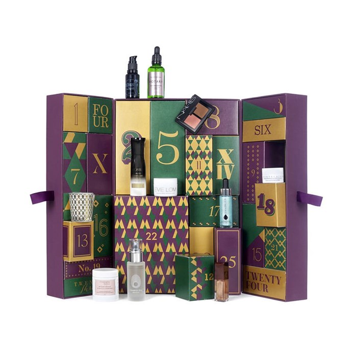 """The Space NK Advent Calendar, $452 AT [Space NK](https://www.spacenk.com/uk/en_GB/gifts/gift-sets/the-space-nk-advent-calendar-MUK200021936.html