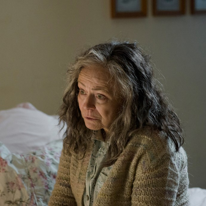 Two-time Oscar nominee Jacki Weaver (pictured) plays the older version of Gwen, who has been placed in a care a facility as she struggles with her illness.