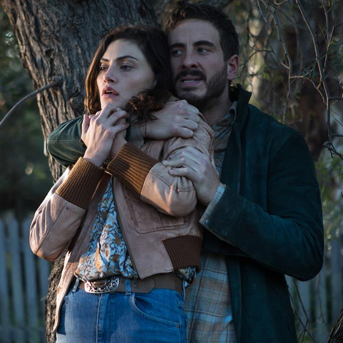 Ryan Corr appears as Sam, a young stranger with a violent side who may have history in the town.
