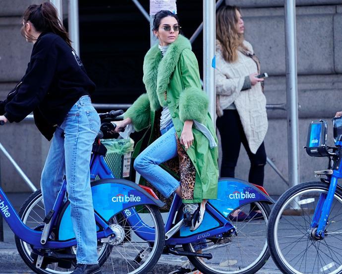 Kendall Jenner in New York City on November 3.