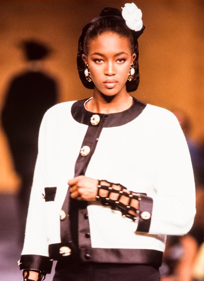 ***1990:*** Naomi Campbell
