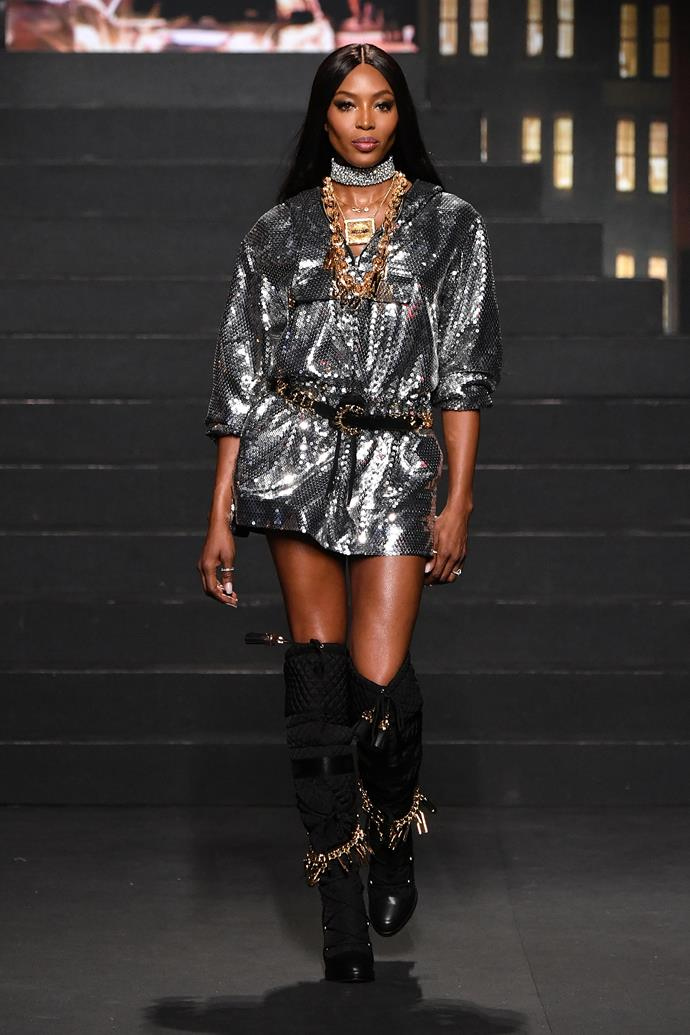 Naomi Campbell for MOSCHINO [tv] H&M; Image: Getty