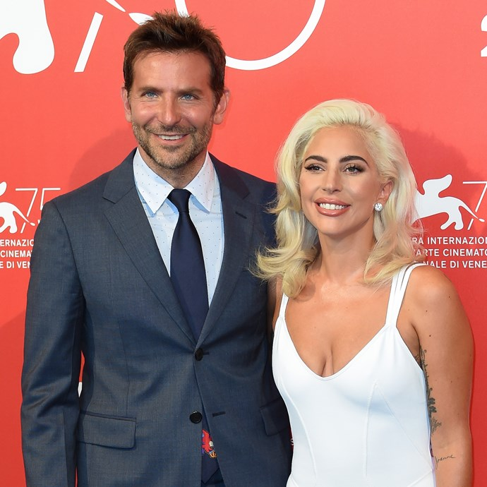 Bradley Cooper and Lady Gaga at the Venice Film Festival in August 2018.