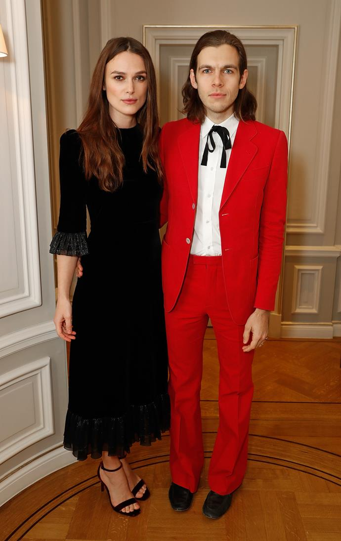 Keira Knightley and husband James Righton.