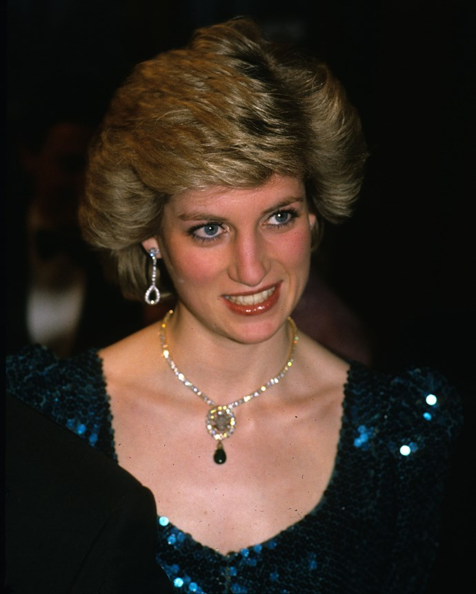 Diana, Princess of Wales in 1986.