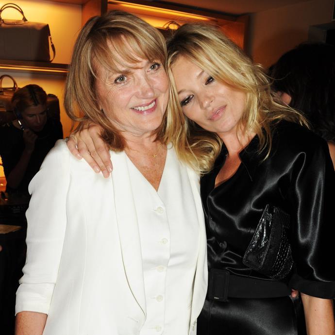 Kate Moss and Linda Moss.