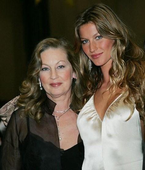 Gisele Bündchen and Vania Nonnenmacher.