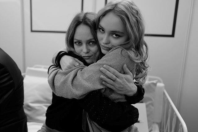 "Lily-Rose Depp and Vanessa Paradis. <br><br> *Image: [@lilyrose_depp](https://www.instagram.com/p/BRYoROtgufv/|target=""_blank""|rel=""nofollow"")*"