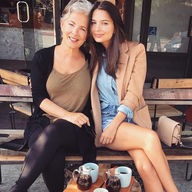 "Emily Ratajkowski and Kathleen Balgley. <br><br> *Image: [@emrata](https://www.instagram.com/p/BFYJIaHy2RF/|target=""_blank""|rel=""nofollow"")*"