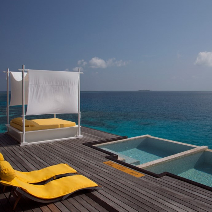 """<strong><a href=""""www.cococollection.com"""">Coco Spa at Coco Bodu Hithi</a></strong> <br> <br> The Maldives <br> <br> The award winning spa opened in 2006, and the eight treatment spaces have been booked out virtually ever since. A seashell massage complete with a splash in the over-water spa is a must."""