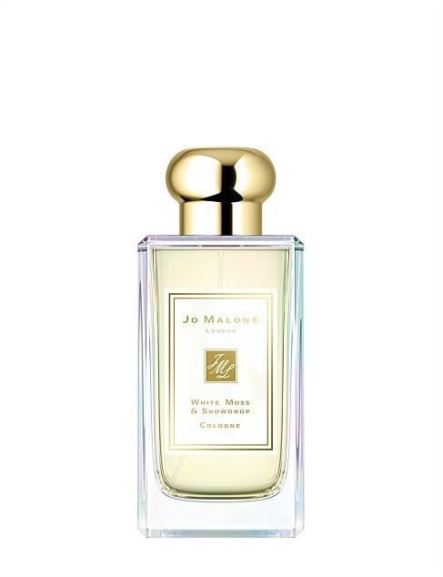 """**[Jo Malone London White Moss & Snowdrop Cologne](https://www.jomalone.com.au/product/22790/61251/christmas18/white-moss-snowdrop-cologne?cm_mmc=Paid_Search-_-Google-_-Digital-_-&gclid=CjwKCAiArK_fBRABEiwA0gOOc_Q9HmBiw1Xht2Ur_sFLNR1pwUr0K7MyA_2i0sXsltsFn1VaOnd9dhoCZEYQAvD_BwE