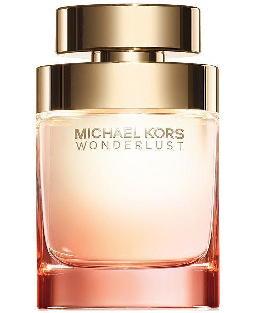 "**[Michael Kors Wonderlust eau de parfum](https://www.myer.com.au/p/michael-kors-michael-kors-wonderlust-edp-50ml?gclsrc=aw.ds&gclid=CjwKCAiArK_fBRABEiwA0gOOc_92HWbJj7ElC98UUiczXFZeQLtuqNMPQDvYX1xdQN1xaOGJQpQZHxoC-jkQAvD_BwE&gclsrc=aw.ds|target=""_blank""