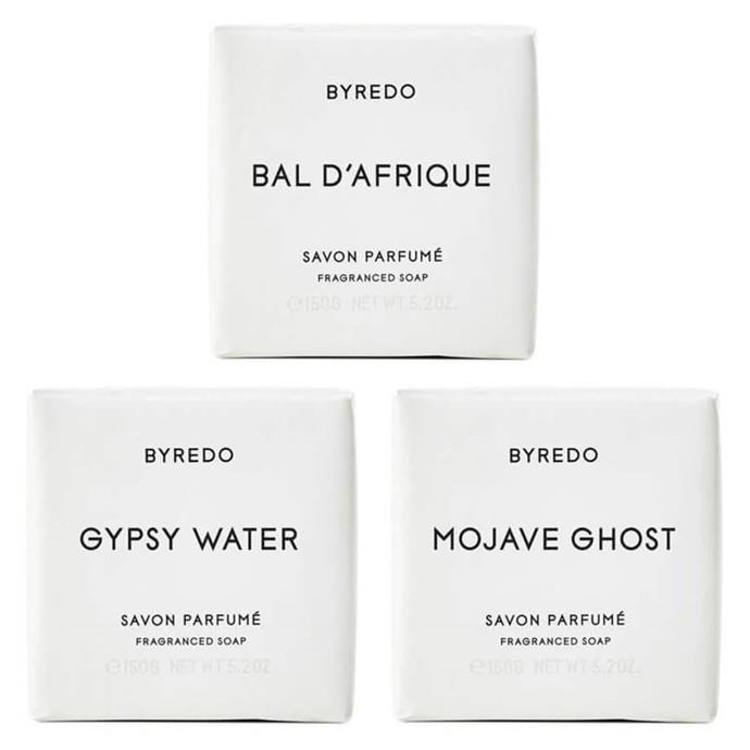 "**[Byredo soap](https://byredo.eu/catalog/product/view/id/818/s/soap-set/|target=""_blank""