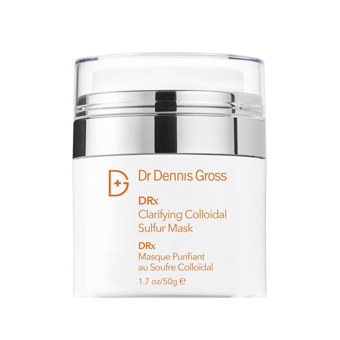 "**Best Deep Cleansing Mask** <br><br> Clarifying Colloidal Sulfur Mask by Dr. Dennis Gross, $61 at [Mecca](https://www.mecca.com.au/dr-dennis-gross/clarifying-sulfur-mask/I-015262.html|target=""_blank""