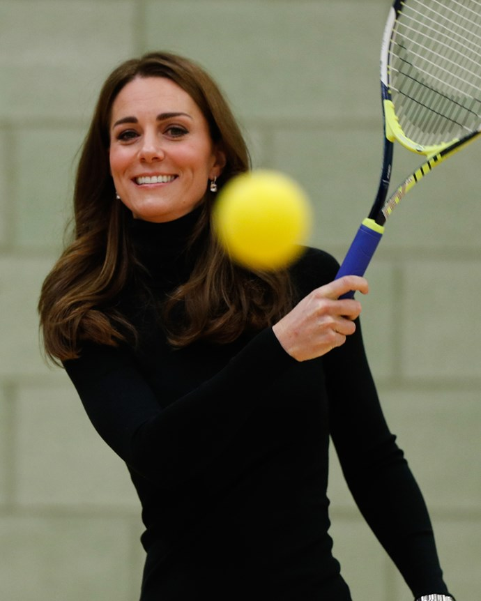 "***Exercise*** <br> Though her workouts alternate all the time, her favourite technique is reportedly planking—with the Duchess employing different planks into almost all of her hour-long workouts. <br><br> The three different types of planks that Kate employs are the normal front plank, as well as the side plank (held with your body one one side) and the prone sky dive plank (involving ""lying on your tummy and gently raising your chest off the floor""), according to [*Daily Mail*](https://www.dailymail.co.uk/femail/article-3816753/The-secret-Kate-s-enviably-toned-figure-plank-Sporty-Duchess-fan-muscle-tightening-exercise-CrossFit.html