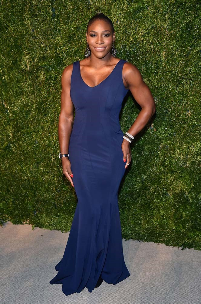 "**6. Serena Williams**<bR><br> When it comes to sport, no one is more influential than Serena Williams. After she wore an Off-White x Nike dress at the US Open, ""black tennis dresses"" increased by 108%."