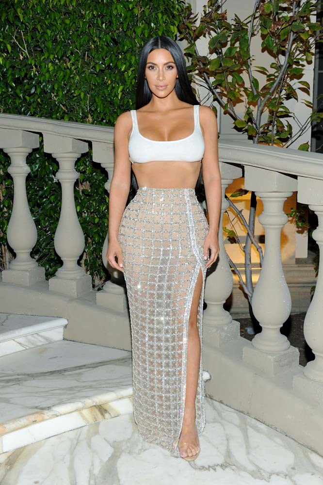 **2. Kim Kardashian**<br><br> Hate her or love her, Kim Kardashian's influence over brands cannot be denied.