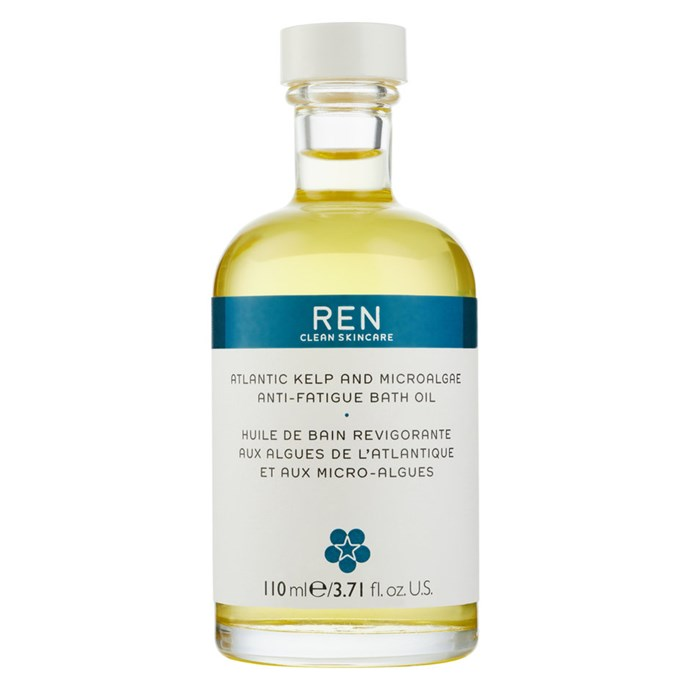 """**Best Sustainable Brand** <br><br> Ren Clean Skincare. Pictured: Atlantic Kelp and Microalgae Anti-Fatigue Bath Oil, $44, at [Ren Skincare](https://www.renskincare.com/products/atlantic-kelp-and-microalgae-anti-fatigue-bath-oil