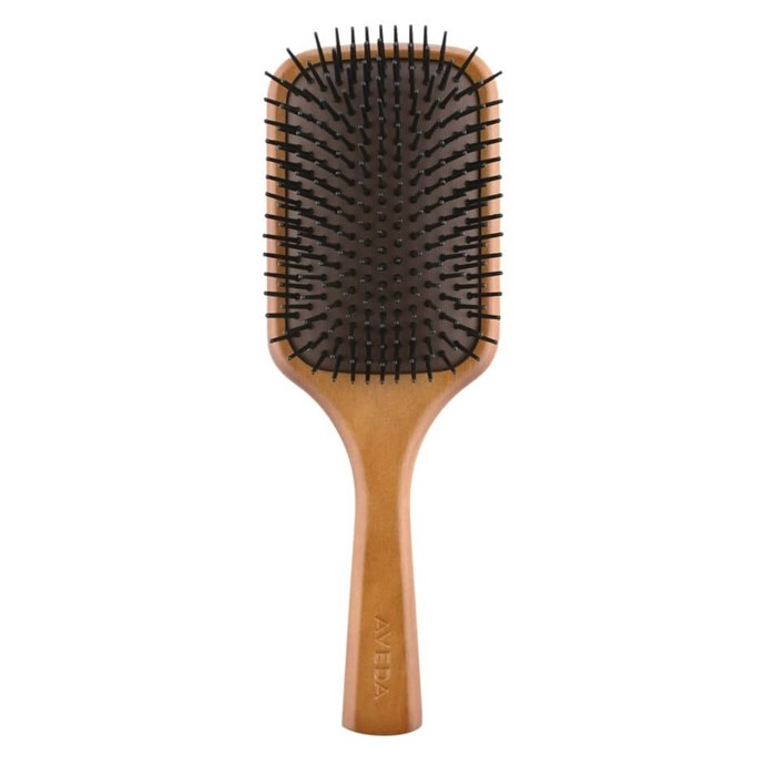 "**Best Brush** <br><br> Aveda Wooden Paddle Brush, $50, at [Adore Beauty](https://www.adorebeauty.com.au/aveda/aveda-wooden-paddle-brush.html?istCompanyId=6e5a22db-9648-4be9-b321-72cfbea93443&istItemId=-xlmxtqrxxt&istBid=tztx&gclid=Cj0KCQiA_s7fBRDrARIsAGEvF8QB0OHNBDLdRsb_SaMgj3COnNJHnnNj5FrhNhbJLpCr89E1XowjN2UaAvhKEALw_wcB|target=""_blank""|rel=""nofollow"")."