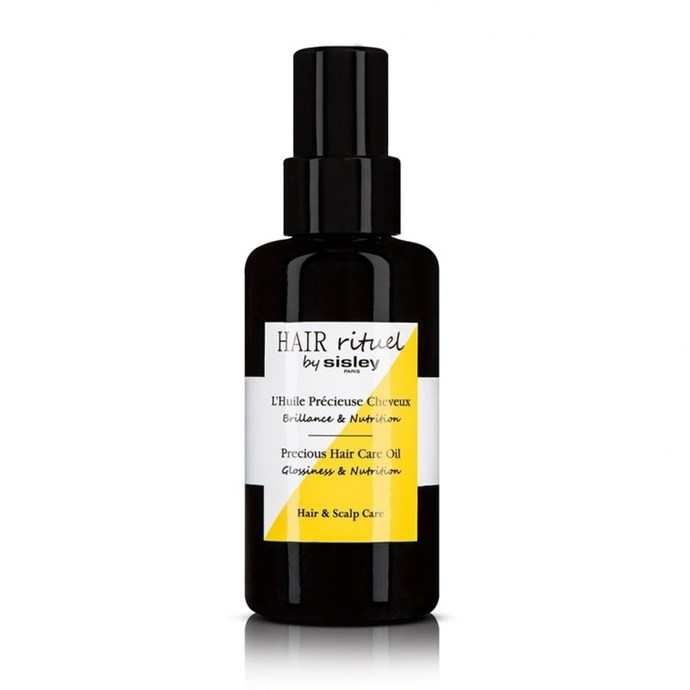 "**Best Nourishing Oil** <br><br> Hair Rituel by Sisley Precious Hair Care Oil, $130, at [Fresh](https://www.sisley-paris.com/en-AU/huile-precieuse-cheveux-3473311692603.html|target=""_blank""