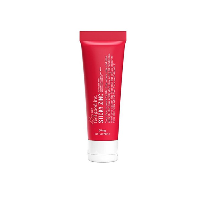 """**Best Beach Cover for Face** <br><br> Sticky Zinc, $30 at [We Are Feel Good Inc.](https://www.wearefeelgoodinc.com.au/products/zinc