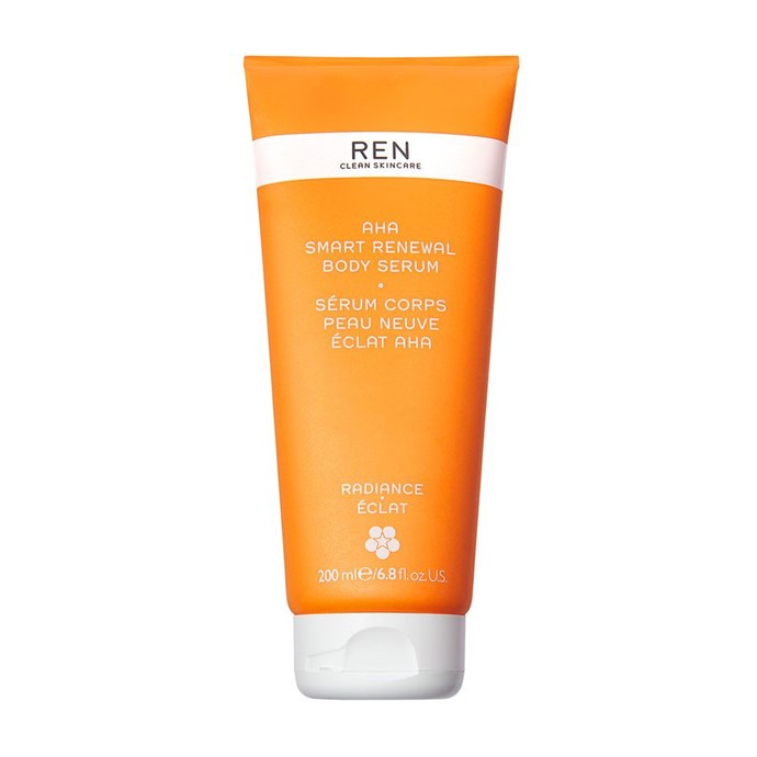 "**Best Body-Smoothing Cream** <br><br> AHA Smart Renewal Body Serum by Ren Clean Skincare, $61 at [Mecca](https://www.mecca.com.au/ren-clean-skincare/aha-smart-renewal-body-serum/I-032370.html|target=""_blank""