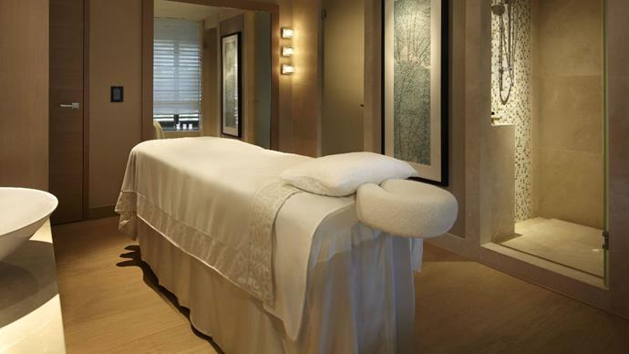"""***The Spa at Park Hyatt Sydney*** <br> Park Hyatt is arguably Sydney's most heavenly hotel—who could say no to that insane harbour view? Therefore, it's no surprise that The Spa at Park Hyatt delivers—no matter how opulent a day spa experience you're after. <br><br> *Massage treatments start at $100, book at [Park Hyatt](https://www.hyatt.com/en-US/spas/The-Spa-Sydney/home.html