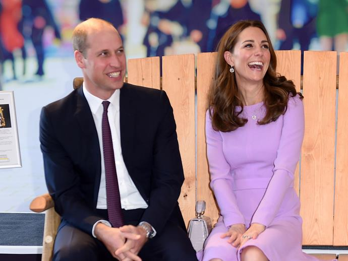 Prince William and Catherine, Duchess of Cambridge at the Global Ministerial Mental Health Summit in London on October 9, 2018.