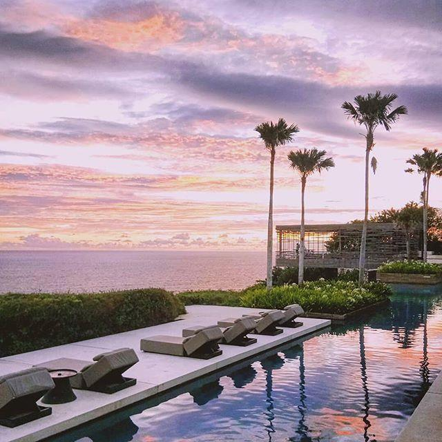 """***Alila Villas, Uluwatu*** <br> The clifftop town of Uluwatu is nothing short of breathaking—and with one of the most famous swimming pools in the world, the villas-only Alila Hotel is truly a vision. Did we mention that every villa also has a private plunge pool? <br><br> *Book at: [Alila Villas](https://www.alilahotels.com/uluwatu