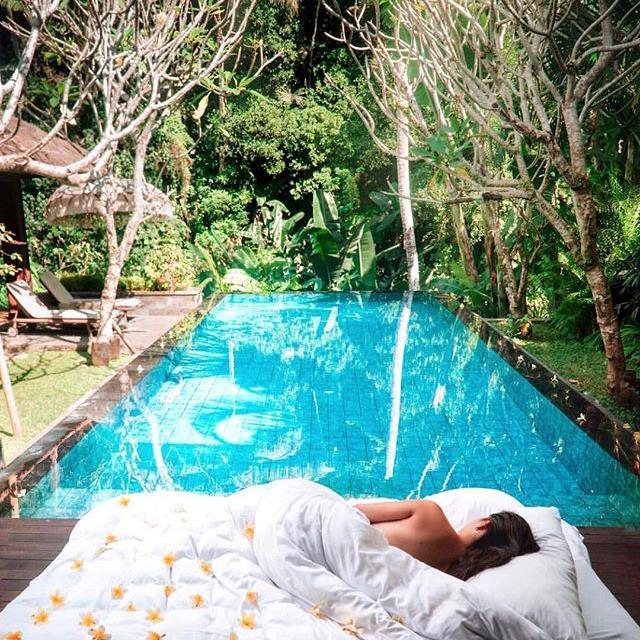 """***Mandapa, a Ritz-Carlton Reserve, Ubud*** <br> Though it's run by one of the most luxe hotel chains in the world, don't expect an inauthentic experience at Mandapa. Set on the Ayung River rapids in Ubud, Mandapa provides an unforgettably opulent escape, but stays refreshingly true to Bali's earnest roots. <br><br> *Book at: [Ritz-Carlton](http://www.ritzcarlton.com/en/hotels/indonesia/mandapa