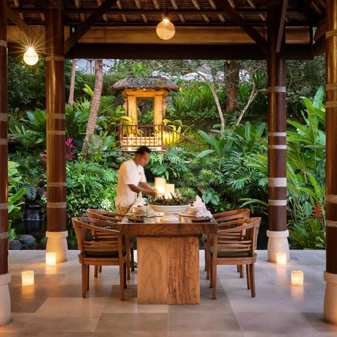 """***Uma by COMO Ubud*** <br> Like the Four Seasons Sayan, the Uma Hotel is a true Balinese escape, but still lies in close proximity to everything Ubud has to offer. Plus, you'll never have worked out anywhere quite as beautiful as at their yoga spot, which sits perched over a picturesque mountain gorge. <br><br> *Book at: [COMO Hotels](https://www.comohotels.com/en/umaubud