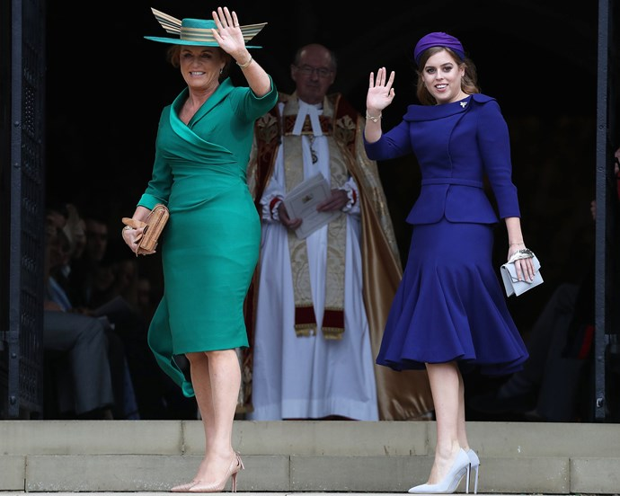 Princess Beatrice and her mother, Sarah, Duchess of York.