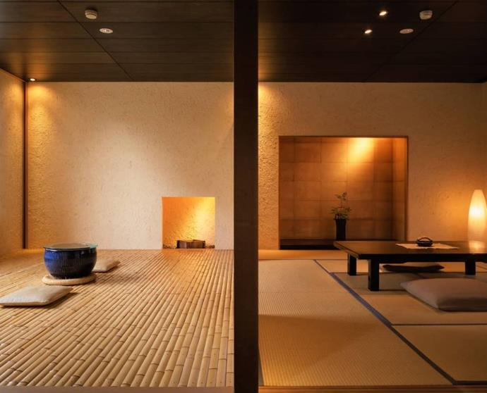 """**[Beniya Mukayu, Yamashiro](https://www.mrandmrssmith.com/luxury-hotels/beniya-mukayu target=""""_blank"""" rel=""""nofollow""""):** A hot-spring ryokan with 16 rooms, this traditional property is run by luxury hotel chain Relais & Châteaux and is located in the spa town of Yamashiro, outside Kyoto. Authenticity is key at this peaceful property, where every room has its own private open-air hot spring bath. You can wear custom-designed yukata (a light cotton kimono) during your stay, undertake tea ceremonies and yoga lessons and enjoy traditional ryokan food."""