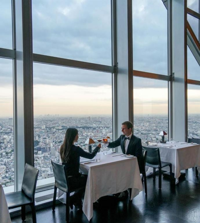 """**[Park Hyatt, Tokyo](https://www.booking.com/hotel/jp/park-hyatt-tokyo.en-gb.html?aid=356987;label=gog235jc-hotel-XX-jp-parkNhyattNtokyo-unspec-au-com-L%3Aen-O%3AwindowsS10-B%3Achrome-N%3AXX-S%3Abo-U%3AXX-H%3As;sid=78b2b5299c4583fc219710c23a3f54ed;dist=0&keep_landing=1&sb_price_type=total&type=total& target=""""_blank"""" rel=""""nofollow""""):** Made famous by the 2003 cult Sofia Coppola film, *Lost In Translation*, the Park Hyatt is easily one of the most iconic hotels in Japan. Make like Bill Murray and sip a whiskey in the hotel's famous Peak Bar while taking in the Tokyo skyline. With its central location, modern amenities and surprisingly spacious rooms (by Japanese standards), this should be your first port of call in Tokyo, even if only for a nightcap. *Photo: Instagram user @robertmichaelpoole*"""