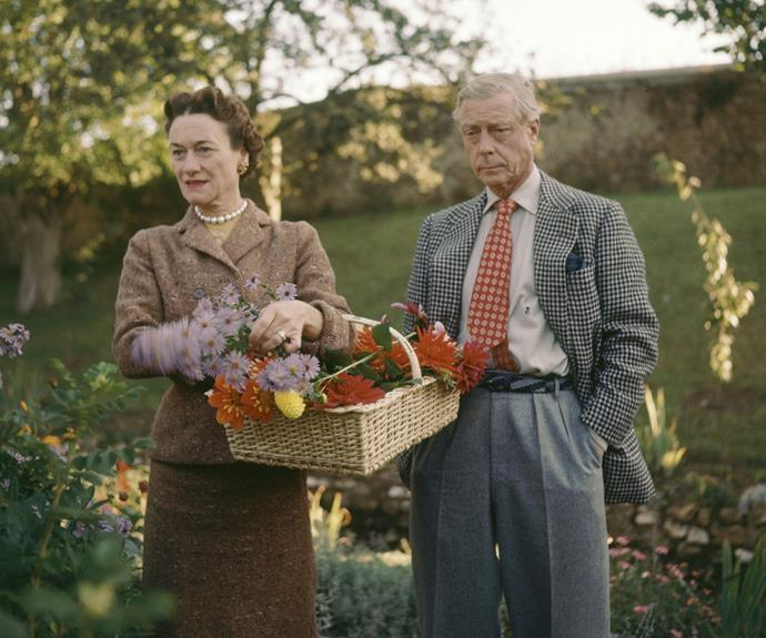 The Duke and Duchess of Windsor pictured in 1955.