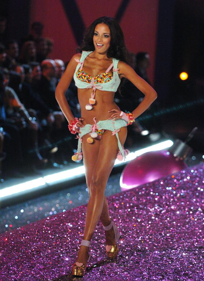 ***Selita Ebanks*** <br> First show: 2005