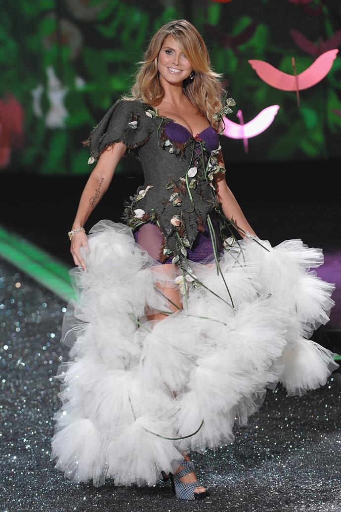 ***Heidi Klum*** <br> Last show: 2009